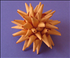 חומרים:  נייר. עצם עגול כלשהו (כמו כוס או קערה). מספריים. עיפרון או עט. דבק נייר.